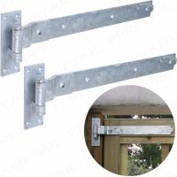 Cranked Hook & Band Hinges Galvanised all sizes