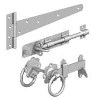 Side Gate Kit in black or BZP ring latch