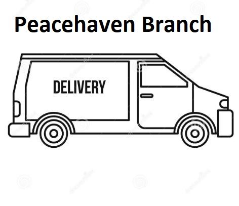 Delivery Charges from Peacehaven Branch