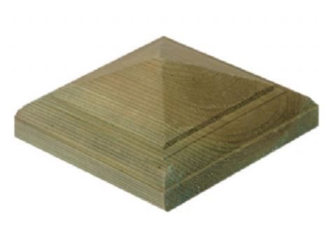Pyramid Finial for fence posts