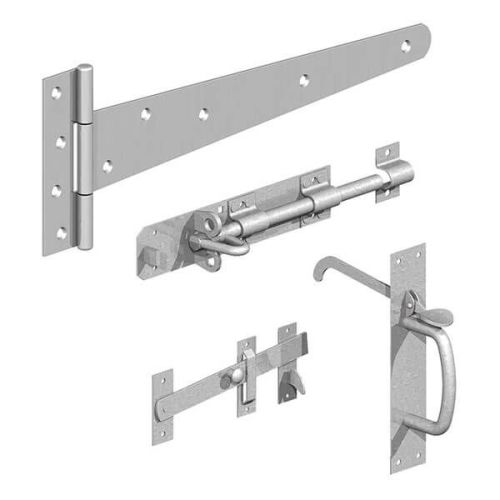 Side Gate Kit  Black or Galvanised From