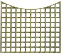 Diamond Concave  Square Trellis  all sizes from