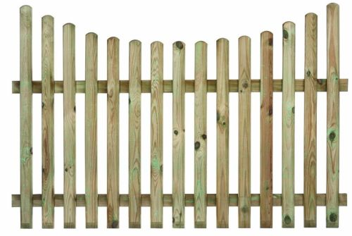 Concave Palisade Fence Panel  all sizes