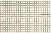 """6ft Wide Square Trellis Flat Top 2"""" Open Hole  all sizes"""