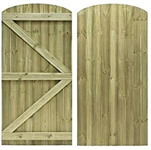 <!-- 0002 -->Ftat Top Feather Edge Gate (ledged and braced only)  all sizes