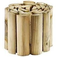 Wired half round log roll