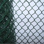 Green PVC Coated Chain Link 12.5mts
