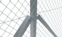 Galvanised Angle Corner Post