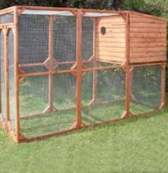 Aviary coop