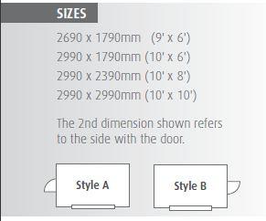 Atlas sizes