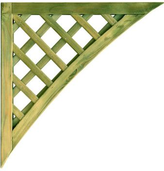 <!-- 0012 -->Trellis corner pieces from