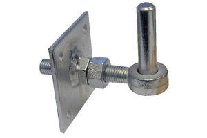 "19mm Pin 100mm x 100mm Field Gate Hook On Plates 4/"" x 4/"""