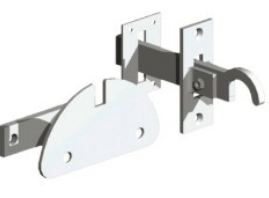Mortise Gate Latch