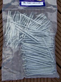 2.5kg prepacked Galvanised Round Wire Nails from