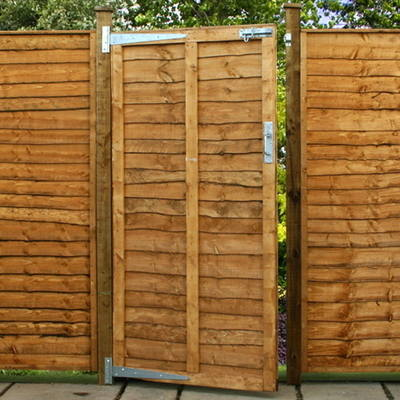 Overlap / Waney edge gate all sizes from