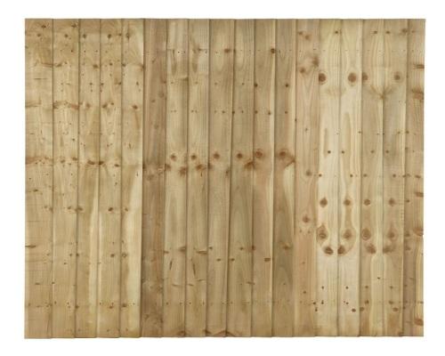 4' x 6' Closeboard Fence Panel
