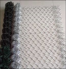 1.8mt Chain link standard Galvanised 3.0mm gauge per Metre