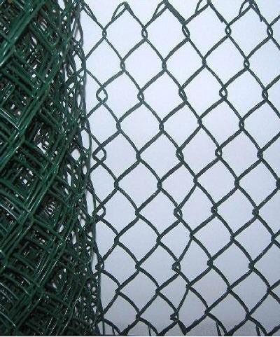 1.8mt Green PVC coated chainlink 3.15 - 2.24mm (per mt)