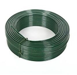PVC coated line wire green (25kg)
