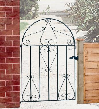 Classic Single Wrought Iron Gate