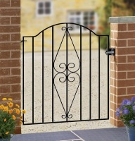 Henley Scroll Low Bow Top Iron Gate