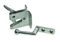 Galvanized  and Black Auto Latches