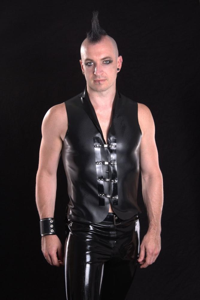 Carbon fibre waistcoat