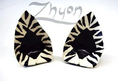Latex Zebra Ears