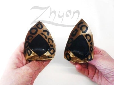 Latex Leopard Print Ears