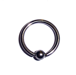 Captive Ball Ring 1.6mm Gauge