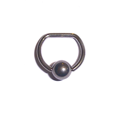 Captive Ball Ring, D-Ring