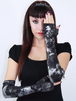 Silver Storm Long Sleeve Gloves