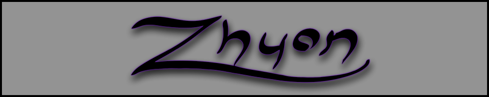 zhyon.co.uk, site logo.