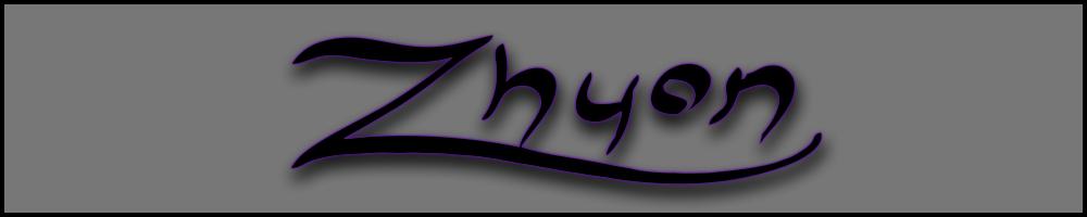 zhyon.co.uk, site logo.