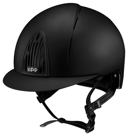 KEP Cromo Smart Riding Helmet - Black