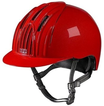 KEP Cromo Endurance Riding Helmet - Red (£232.50 Exc VAT & £279.00 Inc VAT)