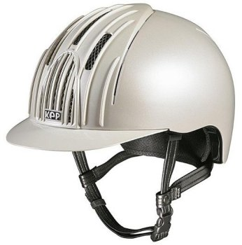 KEP Cromo Endurance Riding Helmet - White (£232.50 Exc VAT & £279.00 Inc VAT)