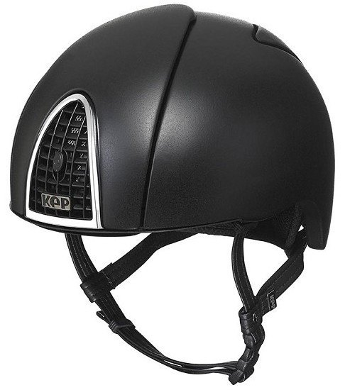 KEP Jockey/Eventing Riding Helmet - Black (£387.50 Exc VAT or £465.00 Inc V