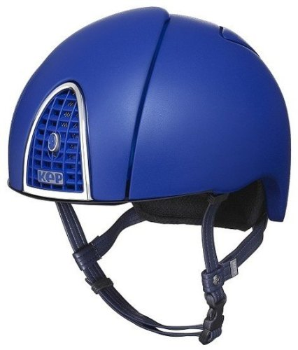 KEP Jockey/Endurance Rainbow Riding Helmet - Frost Blue (£404.17 Exc VAT or