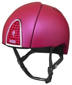 KEP Jockey/Endurance Rainbow Riding Helmet - Rich Pink (£433.33 Exc VAT or £520.00 Inc VAT)
