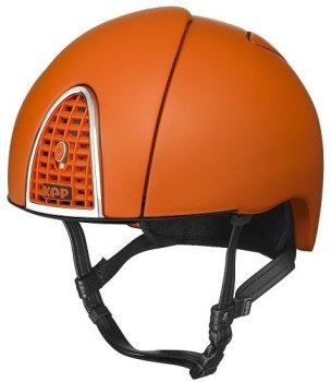 KEP Jockey/Endurance Rainbow Riding Helmet - Orange (£404.17 Exc VAT or £485.00 Inc VAT)