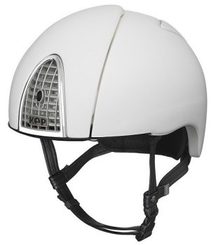 KEP Jockey/Endurance Rainbow Riding Helmet - White (£415.83 Exc VAT or £499.00 Inc VAT)
