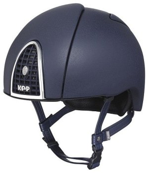 KEP Jockey/Endurance Rainbow Riding Helmet - Navy (£404.17 Exc VAT or £485.00 Inc VAT)