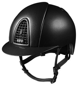 KEP Cromo Metal Metallic Riding Helmet - Black Metallic (£462.50 Exc VAT & £555.00 Inc VAT)