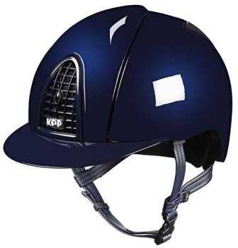 KEP Cromo Metal Metallic Riding Helmet - Navy Metallic (£462.50 Exc VAT & £555.00 Inc VAT)