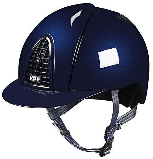 KEP Cromo Metal Metallic Riding Helmet - Navy Metallic (£462.50 Exc VAT & £