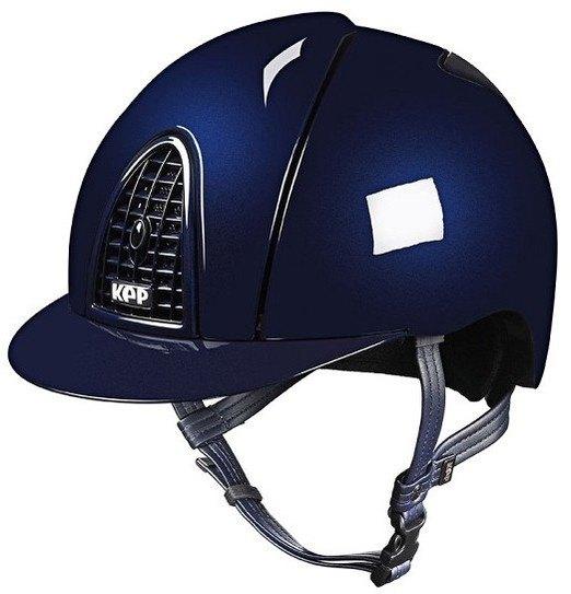 KEP Cromo Metal Metallic Riding Helmet - Navy Metallic (£462.50 Exc VAT & £