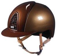 KEP Cromo Metal Metallic Riding Helmet - Caramel/Bronze Metallic (£499.17 Exc VAT & £599.00 Inc VAT)
