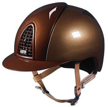 KEP Cromo Metal Metallic Riding Helmet - Caramel/Bronze Metallic (£462.50 Exc VAT & £555.00 Inc VAT)