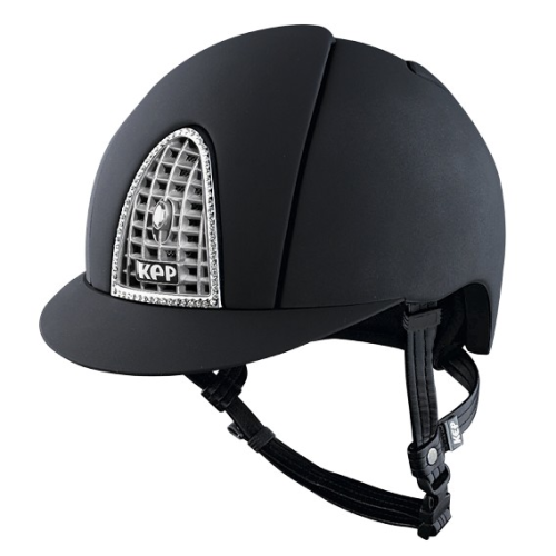 KEP Cromo Textile Black with Swarovski Crystal & Chrome Grill (£612.50 Exc